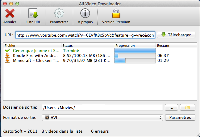 All Video Downloader MacOSX 2.0