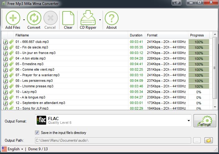 dBpoweramp: mp3 converter, FLAC, WAV, AAC and Apple Losslesss. CD Ripper, Album Art Fixing, Asset UPnP Server