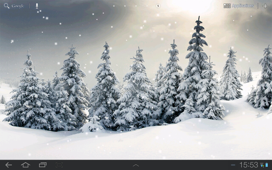 Kastorsoft Live Snow Wallpaper Live Snow Wallpaper