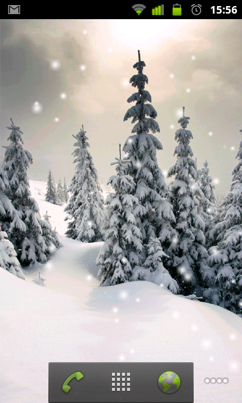 Live Snow Wallpaper