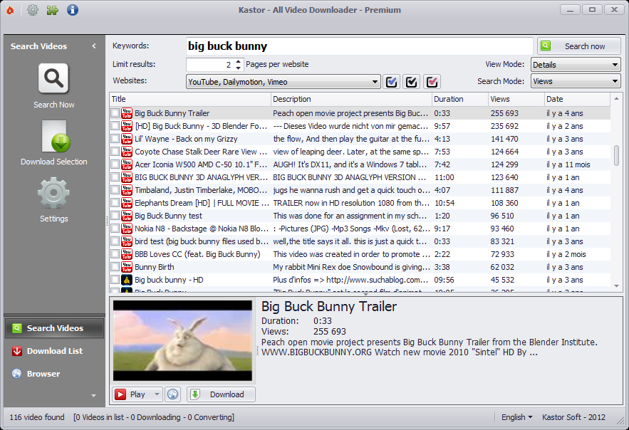 Click to view All Video Downloader 6.0.0 screenshot