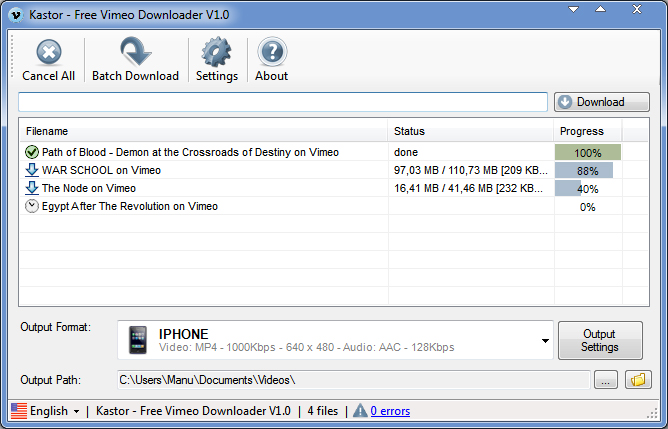 Free Vimeo Downloader